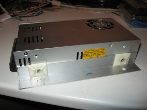 power supply with brackets